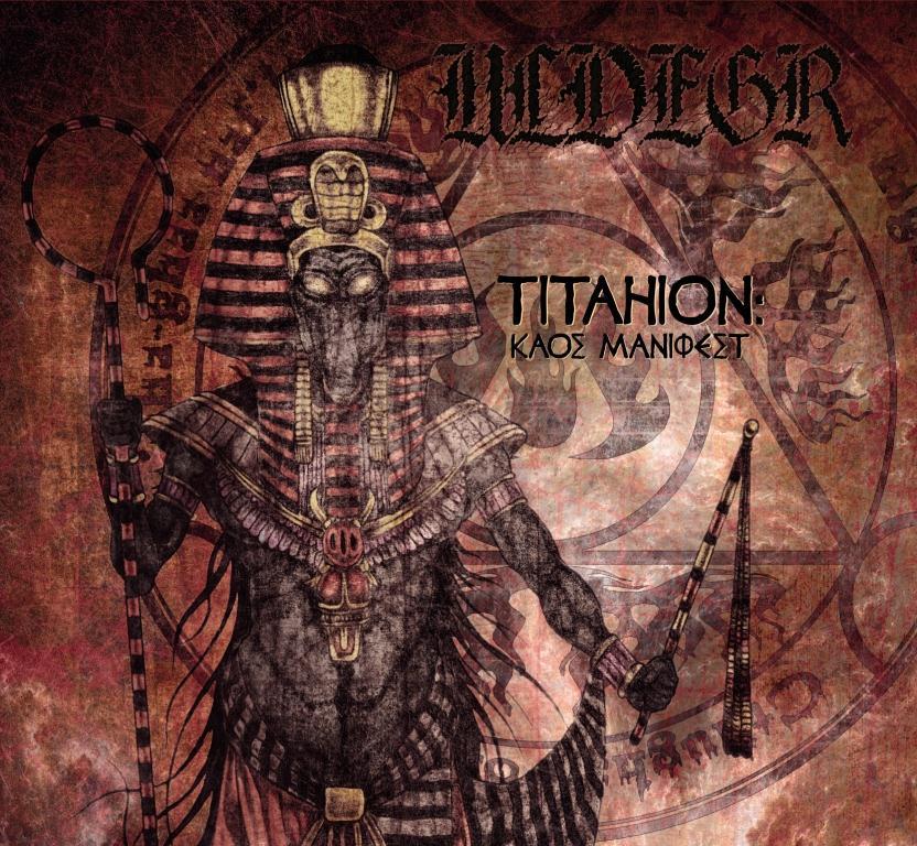 "AD003  Ulvegr - ""Titahion: Kaos Manifest""  Digipack Edition"